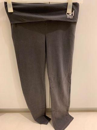 GillyHicks純棉瑜珈褲M號
