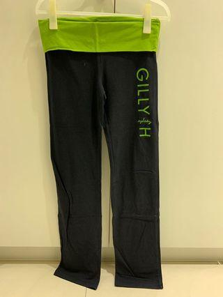 GillyHicks純棉瑜伽褲S號