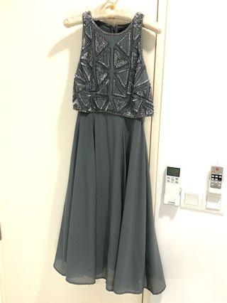 Forever21 dinner/wedding/cocktail/bridesmaid dress in Small size embellished, bling dress