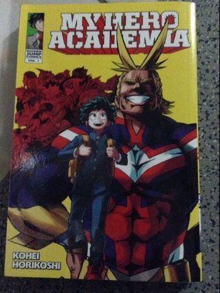 Boku no Hero Academia / My Hero Academia Vol. 1