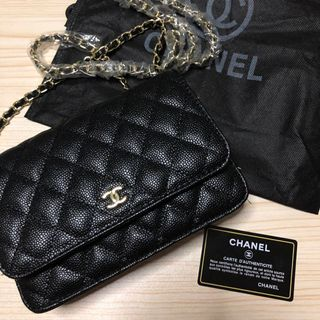 31971c7df7b4 Chanel Classic Wallet On Chain WOC (Authentic)