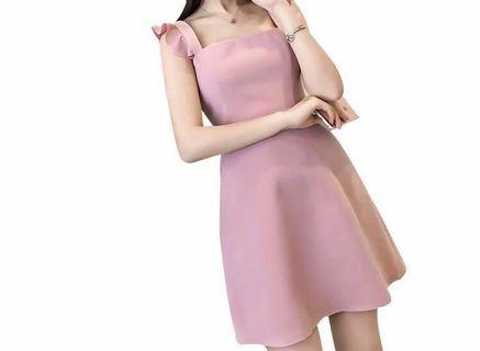 Fluffy Dress (Pink color)