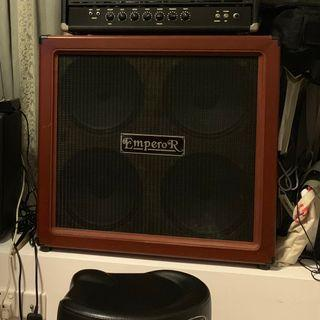 Emperor 4x12 Guitar Cabinet with Eminence Governors/Tonkers