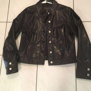 New Price-Banana Republic Leather Jacket