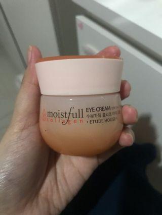 Etude moistful collagen eye cream