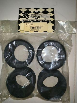 ZAC Project F1 Rear Tires 30Shores for Tamiya F104