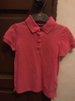 Mothercare Polo Shirts- Pink