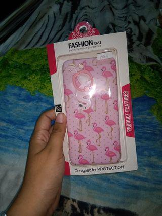 Softcase Flamingo Oppo A83 (free ring)