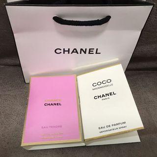 Chanel Perfume mini - Chance & Coco