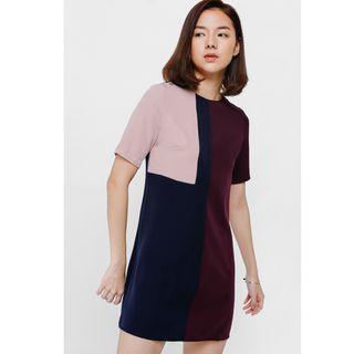 Love Bonito Adarie Color Block Dress