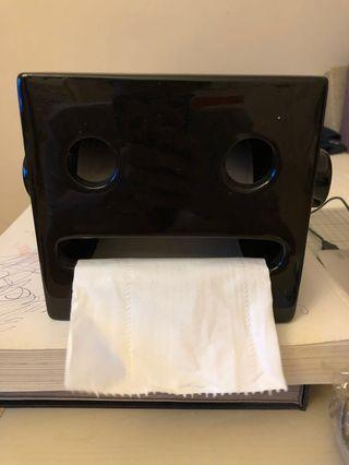 厠紙筒/紙巾盒(玻璃)