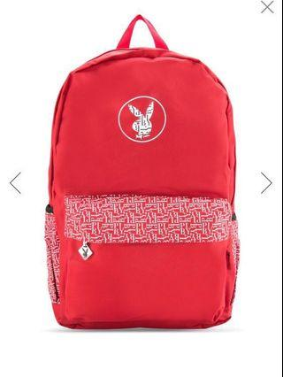 PLAYBOY red backpack