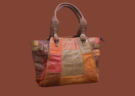 ASPARA ladies leather hand bag