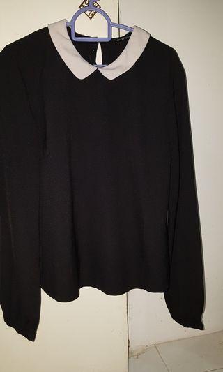 Cute peterpan collared shirt