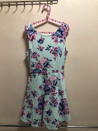 Floral Blue Dress from H&M