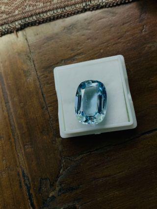 海藍寶 Aquamarine  11 carats