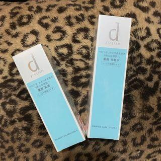 Shiseido D program 水油平衡乳液