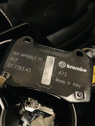 Brembo hp1000/1 ff 剎車皮