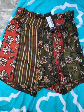 Nastygal Printed Shorts
