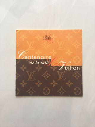 💯Authentic VINTAGE Louis Vuitton Commemorative Stamps (Centennial - 100 eyears) RARE FIND EXCLUSIVE ONLY IN CANADA LOUIS VUITTON #OYOHOTEL