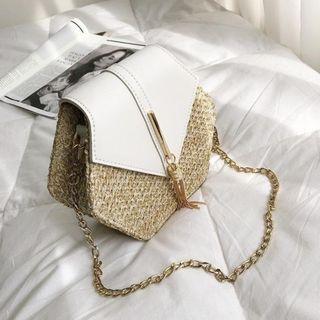 Hexagon Rattan Bag for Women