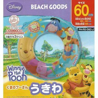 Disney Winnie the Pooh and Friends Blue Inflatable Float Swimming Ring