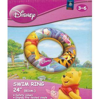 Disney Winnie the Pooh Inflatable 60cm Swimming Ring Float
