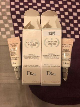 Dior AGE-DELAY ADVANCED EYE TREATMENT 2ml (@$25 each)