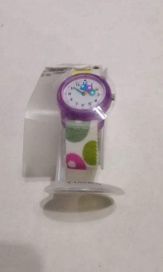 Timex Ladies / Girl Cute Watch with Elastic Strap