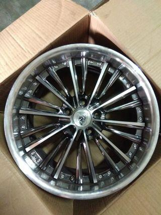 18 inch taiwan rim with dunlop tyre