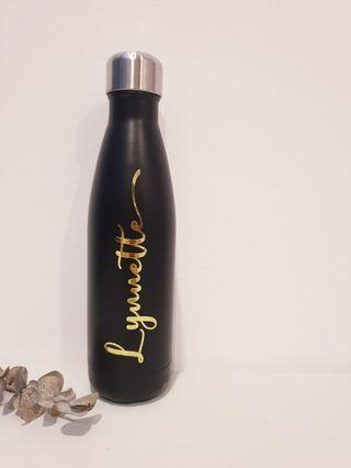 Customised personalised name on thermal bottle gift ideas