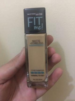 New! FreeOngkir 10k! MAYBELLINE FIT ME FOUNDATION