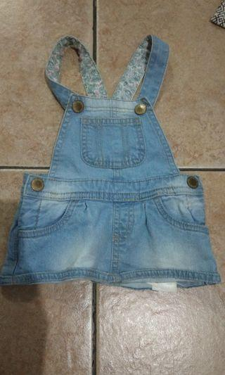 overall denim cotton on