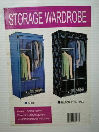 Storage Wardrobe blue colour
