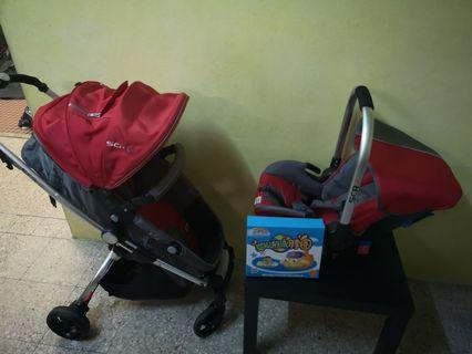 Stroller and Carrier Sweet Cherry