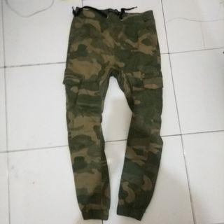jual celana Jogger cotton on not zara, bershka, h&m