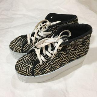 P&B high sole sneakers