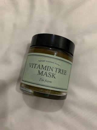 I'm From Vitamin Tree Mask