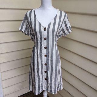 Dotti linen dress size 14