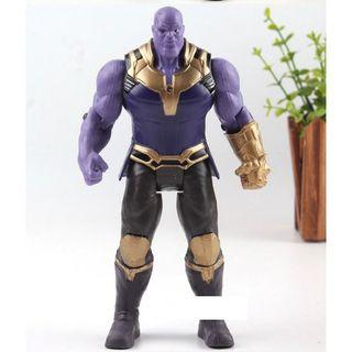 Action Figure Marvel Avengers 3 Infinity War Figure Thanos PVC Avengers Infinity War Thanos Figure Collectible Model Toys Light