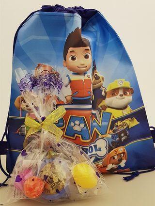 Goodie bag, goody bag, cartoon drawstring bag, yoyo, ball, dino egg