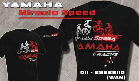 T-shirt Yamaha Miracle Speed