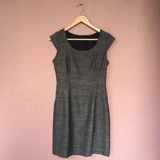#BAPAU Formal Dress Dark Grey