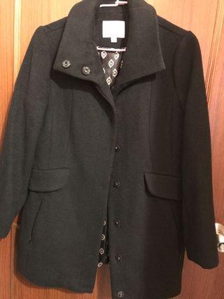 黑大衣外套