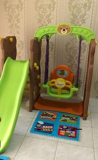 #BAPAU Bear Slide & Swing Toys Kingdom
