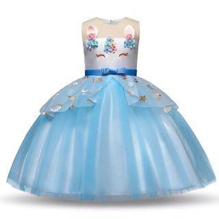 🚚 🌟INSTOCK🌟 Princess Dress Unicorn Party Dress