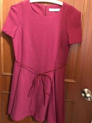韓版立體剪裁洋裝