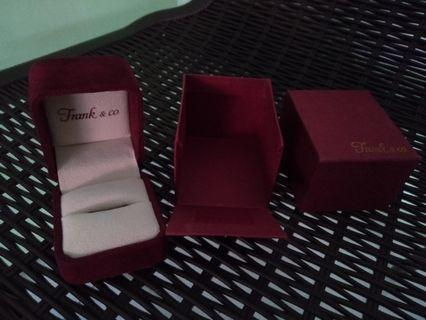 #BAPAU Ring Box Frank&Co Original