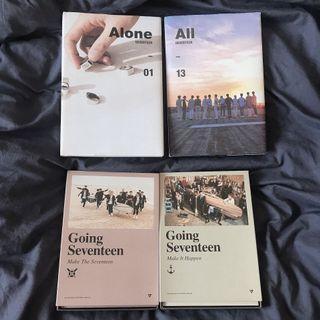 $5 Each (Seventeen Kpop Albums)