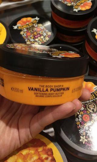 Body butter vanilla pumpkin isi 200ml